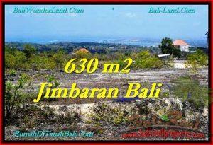 JUAL TANAH di JIMBARAN 630 m2 di Jimbaran Ungasan